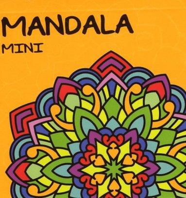bokomslag Mandala mini. Gul