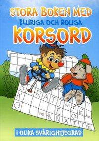 bokomslag Stora boken med kluriga och roliga korsord