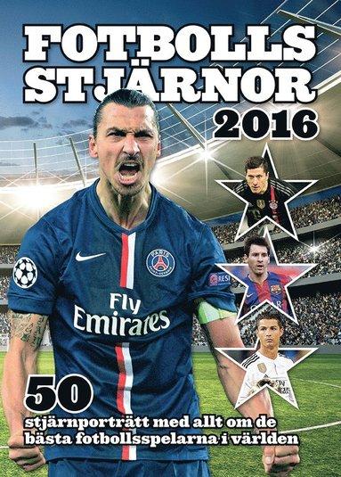 bokomslag Fotbollsstjärnor 2016