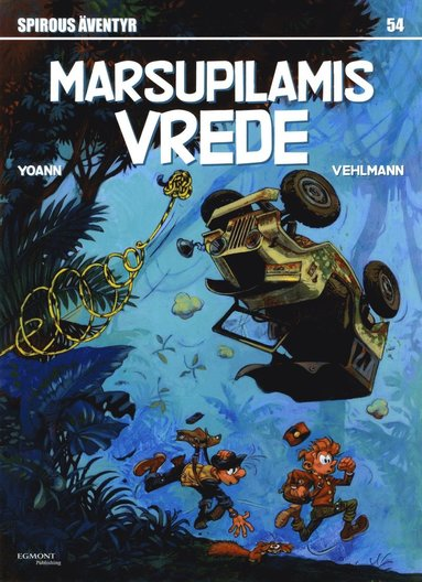 bokomslag Marsupilamis vrede