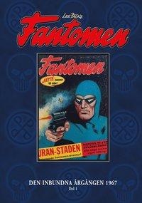 bokomslag Fantomen Den inbundna årgången 1967. D. 1