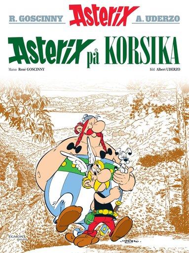 bokomslag Asterix på Korsika