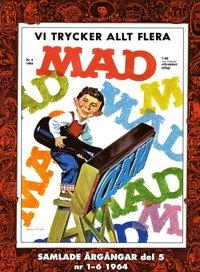 bokomslag MAD - samlade årgångar. Del 5, Nr 1-6 1964