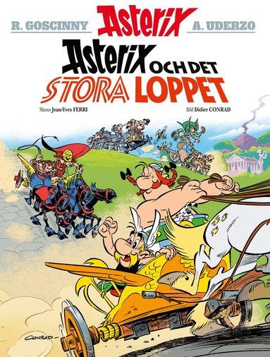 bokomslag Asterix och det stora loppet