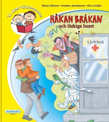 bokomslag Håkan Bråkan och det läskiga huset