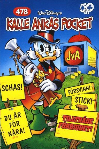 bokomslag Kalle Ankas Pocket, nr 478