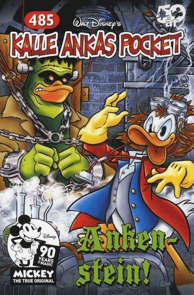 bokomslag Kalle Ankas Pocket 485 : Ankenstein!