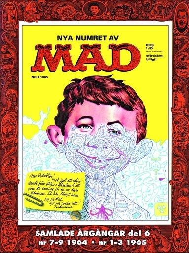 bokomslag Svenska MAD Samlade årgångar del 6 7-9 1964 1-3 1965