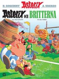bokomslag Asterix och britterna