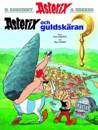 bokomslag Asterix och guldskäran
