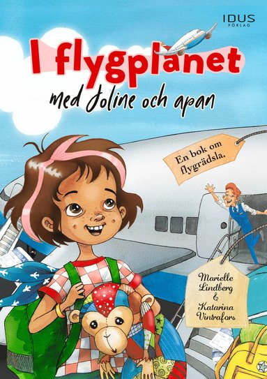 bokomslag I flygplanet med Joline och apan