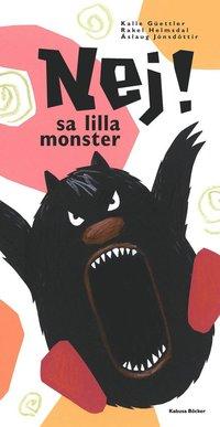 bokomslag Nej! sa lilla monster