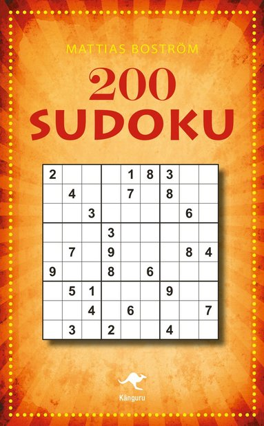 bokomslag 200 sudoku