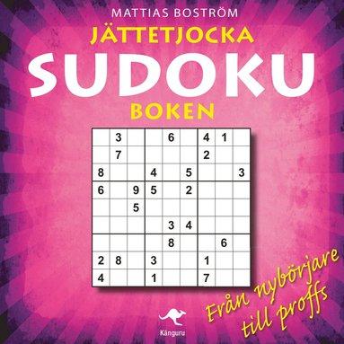 bokomslag Jättetjocka sudokuboken