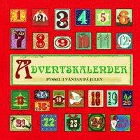 bokomslag Adventskalender : pyssel i väntan på julen