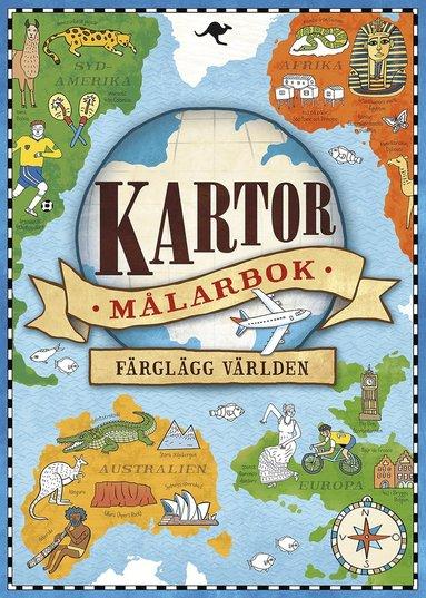 bokomslag Kartor : Målarbok