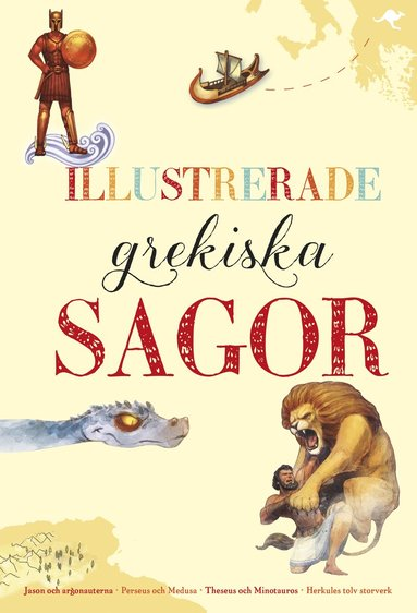 bokomslag Illustrerade grekiska sagor