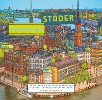 bokomslag Fantastiska städer : en målarbok med häpnadsväckande platser
