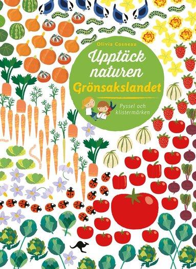 bokomslag Upptäck naturen : Grönsakslandet - Pyssel och klistermärken