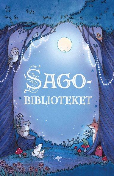 bokomslag Sagobiblioteket : en förtrollande samling av fem klassiska sagor