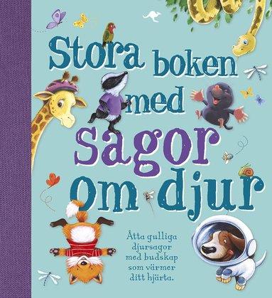 bokomslag Stora boken med sagor om djur