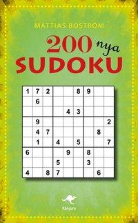 bokomslag 200 nya sudoku