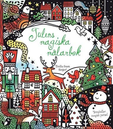 bokomslag Julens magiska målarbok