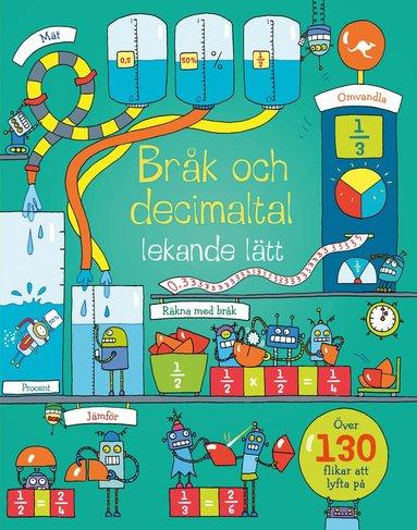 bokomslag Bråk och decimaltal : lekande lätt