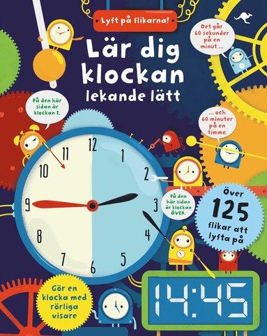 bokomslag Lär dig klockan lekande lätt - lyft på flikarna