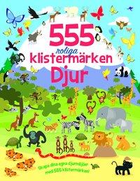 bokomslag 555 roliga klistermärken - Djur