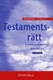 bokomslag Testamentsrätt
