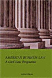bokomslag American business law