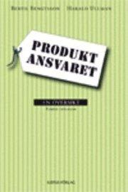 bokomslag Produktansvaret