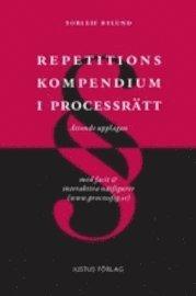 bokomslag Repetitionskompendium i processrätt : med facit och interaktiva nätfigurer nedladdningsbara från www.processfig.se