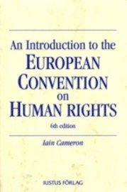 bokomslag An Introduction to the European Convention on Human Rights