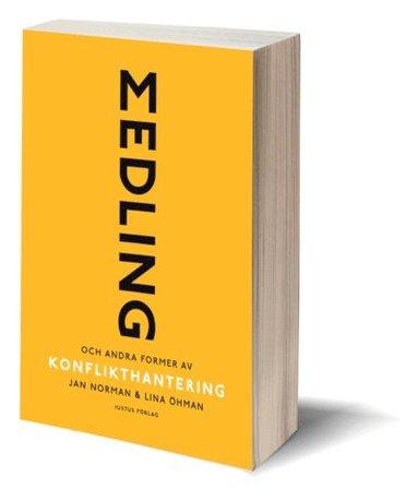 bokomslag Medling och andra former av konflikthantering