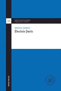 bokomslag Decisio Juris