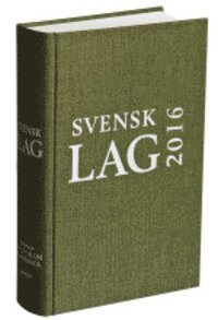 bokomslag Svensk lag 2016