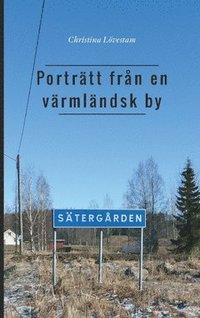bokomslag Porträtt från en värmländsk by