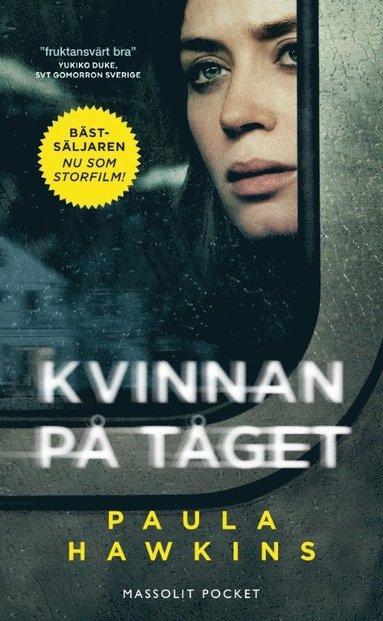 bokomslag Kvinnan på tåget Filmomslag
