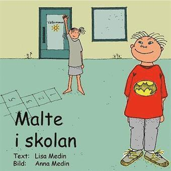 bokomslag Malte i skolan