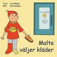 bokomslag Malte väljer kläder