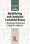 bokomslag Bokföring och bokslut i enskild firma
