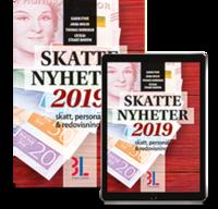 bokomslag Skattenyheter 2019 : skatt, personal & redovisning