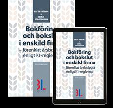 bokomslag Bokföring och bokslut i enskild firma : förenklat årsbokslut enligt K1-reglerna