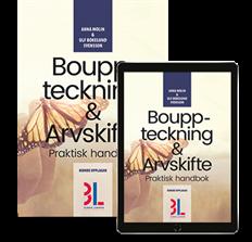 bokomslag Bouppteckning & Arvskifte