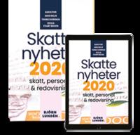 bokomslag Skattenyheter 2020