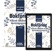 bokomslag Bokföring : praktisk handbok med konteringsexempel