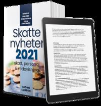 bokomslag Skattenyheter 2021