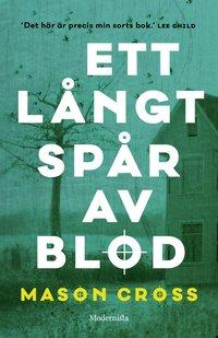 bokomslag Ett långt spår av blod